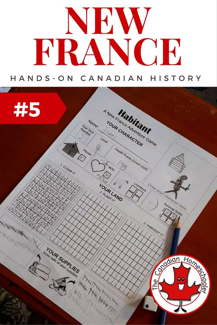 Canadian History - Habitant, a New France Game