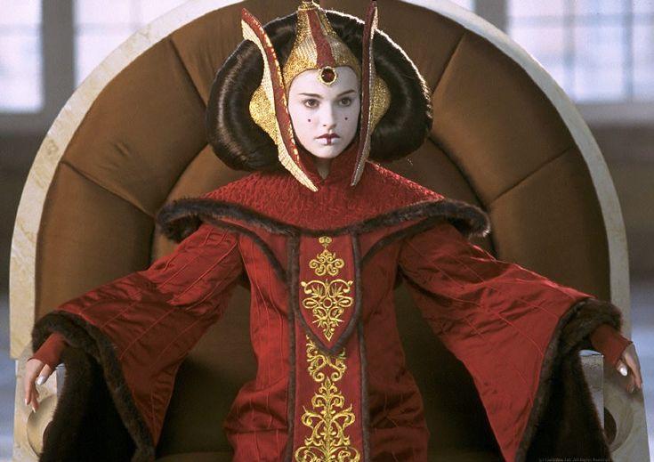 padme amidala | The Costumes of Star Wars - Padme Amidala