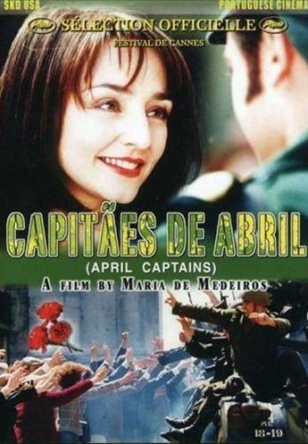"""""""Capitães de Abril"""" - Maria de Medeiros, 2000. Película que trata sobre la llamada """"Revolución de los claveles"""", que terminó con la dictadura de Salazar."""