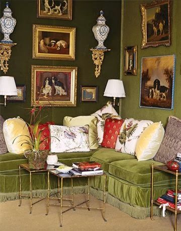 Eye For Design: Decorating With Canine Art......English And Elegant