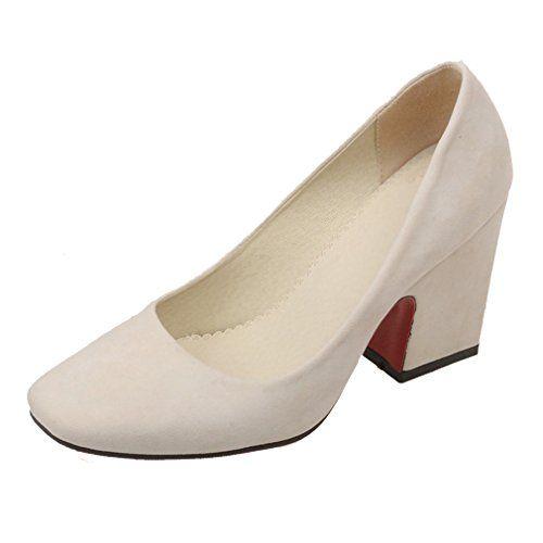 ENMAYERベージュ正方形とローヒールの靴とレトロなミニマリストの正方形のヘッドつま先ハイヒール厚いヨーロッパや... https://www.amazon.co.jp/dp/B01N59J49P/ref=cm_sw_r_pi_dp_x_3mqrybTDDTQPT