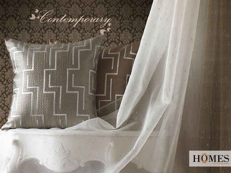 Keep your #Homes stylish and eclectic with our #Contemporary #Designs. Explore more on www.homesfurnishings.com #HomeFabrics #Cushions #Curtains #HomesFurnishings