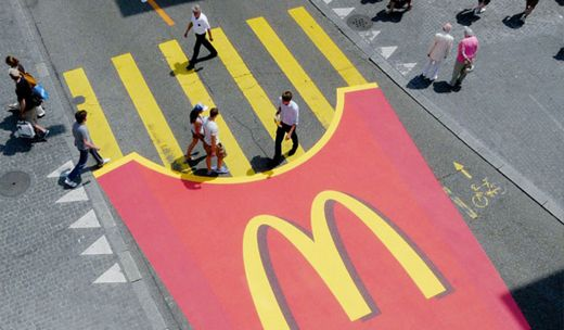 Casually crossing on some fries. Brought to you by Shoplet.com - everything for your business.