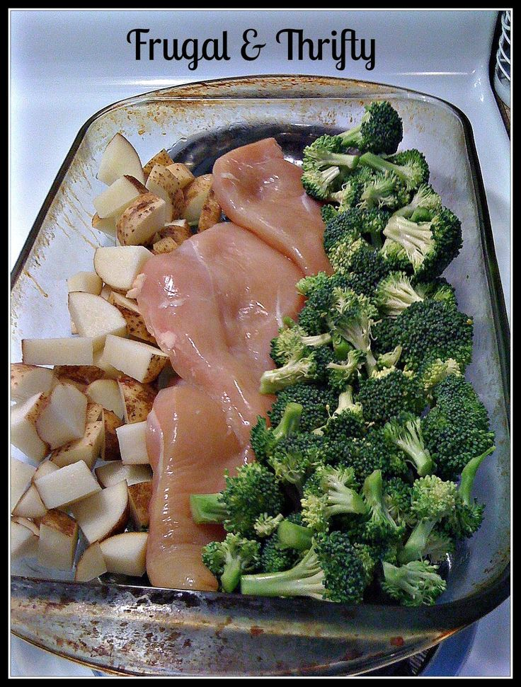 Frugal & Thrifty : 1 Pan Chicken Dinner