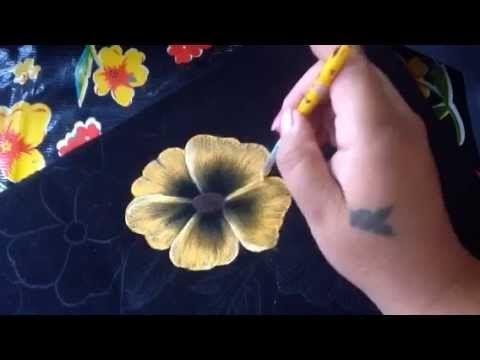 PARTE 2.  PIROGRABADO. Prof.  Cony  ... Pintura en tela carpeta pirograbada # 2 con cony