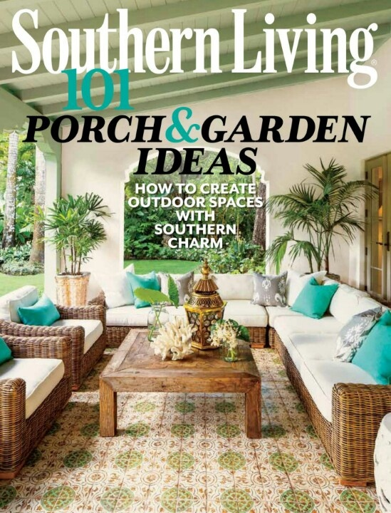 Tile Rug   Southern Living Magazine   Coral Gables Home