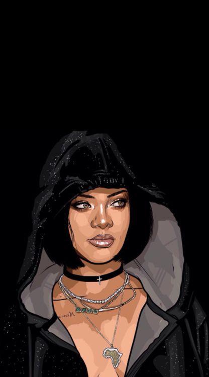 Image result for baddie background Black girl magic art