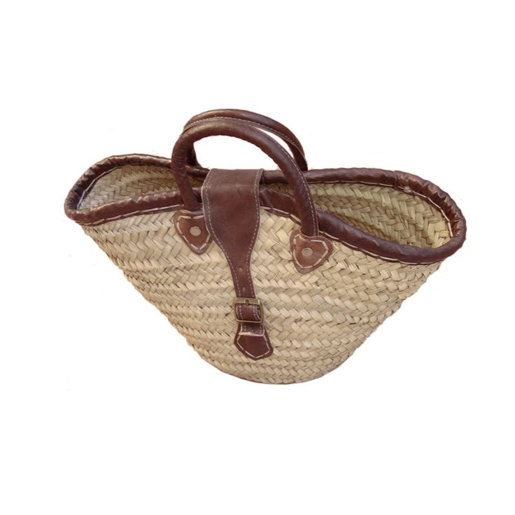 Lightweight and strong they are ideal for food shopping, a chic weekend and beach tote, perfect for farmer's markets. The Original French Market Basket.