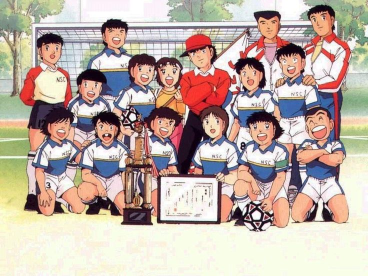 "Captain Tsubasa - dbtoon.com - Captain Tsubasa (Japanese: キャプテン翼, Hepburn: Kyaputen Tsubasa), also known as Flash Kicker, is a popular long-running Japanese manga, animation, and video game series, originally created by Yōichi Takahashi in 1981. The series mainly revolves around the sport of Association football.The story focuses on the adventures of a Japanese youth soccer team and its football/soccer captain Tsubasa Oozora (大空 翼, Ōzora Tsubasa), whose name literally translates to ""Big Sky…"