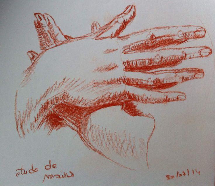 étude de mains, d'après Giacinto (XVIIe-XVIIIe siècles)