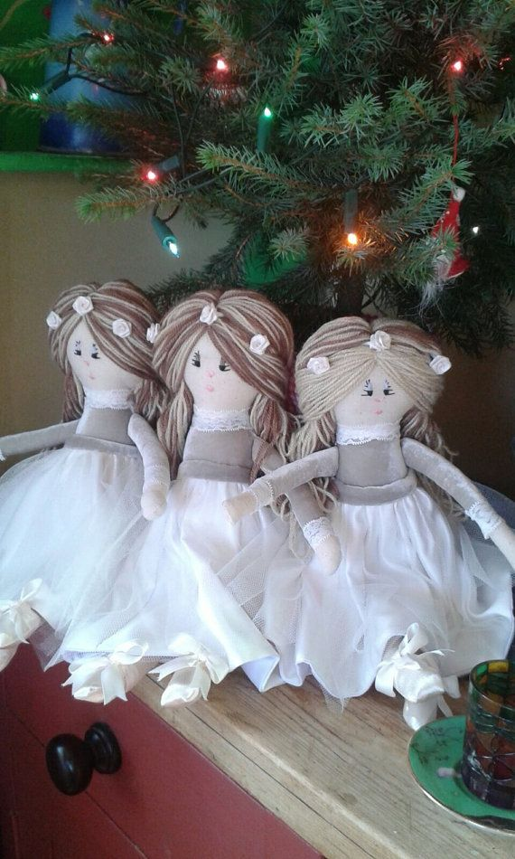 Check out this item in my Etsy shop https://www.etsy.com/uk/listing/492216904/flower-girl-dolls-wedding-dolls