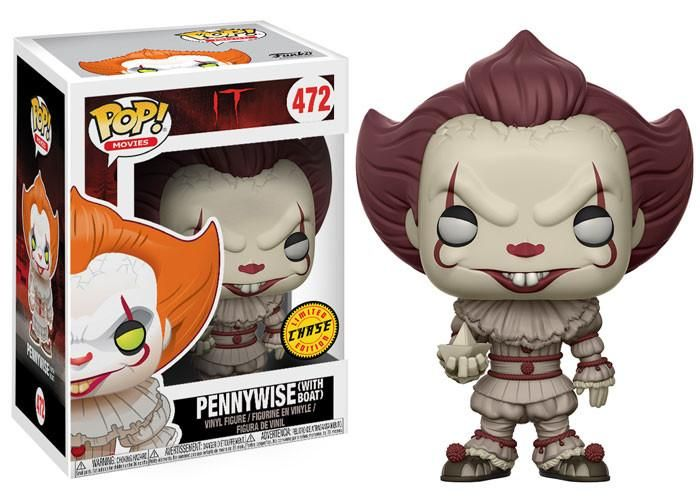Pop Movies 467 It 2017 Pennywise With Boat Sepia