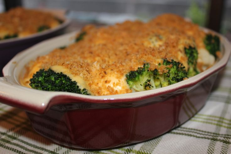 Mmmmm, this rich and cheesy side dish would make a great accompaniment to any main course.