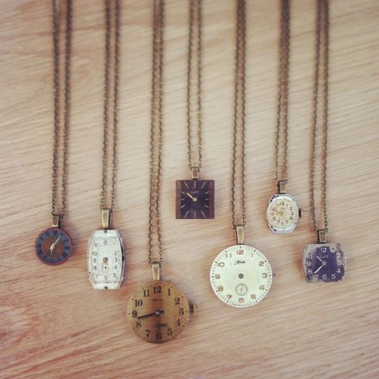 vintage watch faces and other vintage watch jewelry