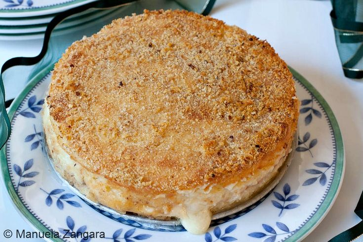 My family recipe from a traditional Italian dish: Gattò di patate, aka potato pie!