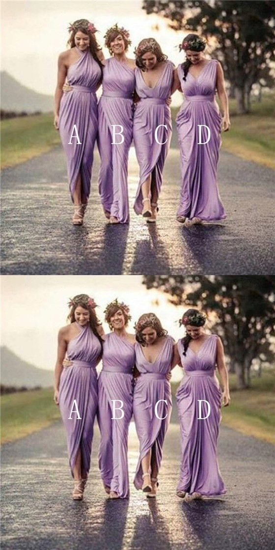 92f00eb242fd Charming Mismatched Bridesmaid Dresses