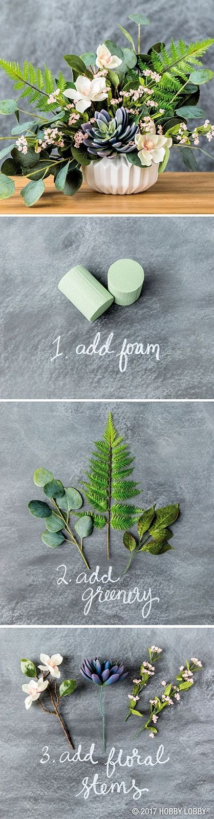 A beautiful bouquet is 3 simple steps away!