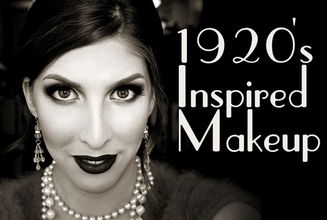 Wearable 1920s Inspired Makeup Tutorial |  Pigments & Palettes | Makeup, beauty and style -Gatsby