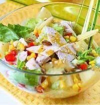 Салаты - рецепты салатов, рецепты салатов к празднику, овощные салаты, мясные салаты, рецепты салатов с морепродуктами.