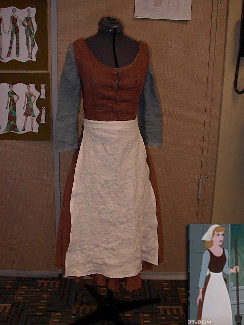 Cinderella peasant dress tutorial with Butterick Pattern 4017