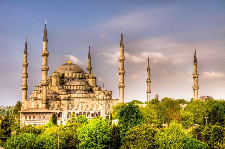 Blue Mosque, en Estambul (Turquia), foto de Nejdet Duzen, via 500px