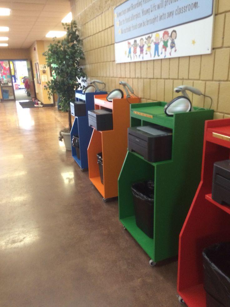 Check in kiosks  fun with church kids  Kids church
