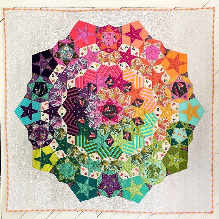 Tula Nova Quilt - Pattern and paper pieces at Pink Castle Fabrics!