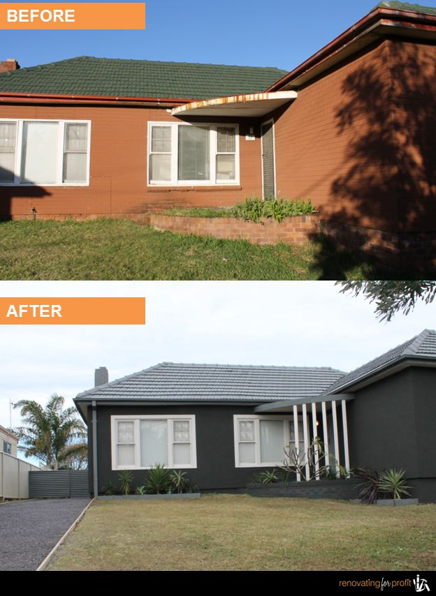 #renovation #facade #property See more exciting projects at: www.renovatingforprofit.com.au