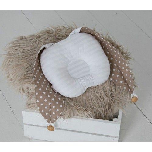 ТМ Magbaby Детская ортопедическая подушка для новорожденных Зайка