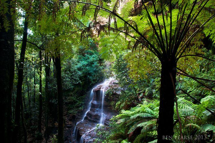 Witches Leap, Katoomba Blue Mountains NSW