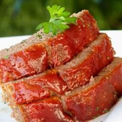 """Brown Sugar Meatloaf 