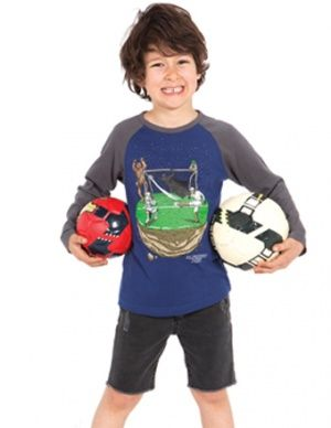 Buy Alphabet Soup Football Wars Raglan L/S Tee