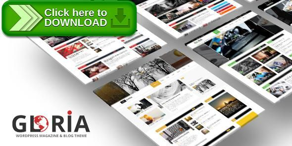 [ThemeForest]Free nulled download Gloria - Multiple Concepts Blog Magazine WordPress Theme from http://zippyfile.download/f.php?id=13760 Tags: article, article site, article theme, article wordpress, blog, magazine, magazine site, magazine theme, magazine wordpress, review, review site, review theme
