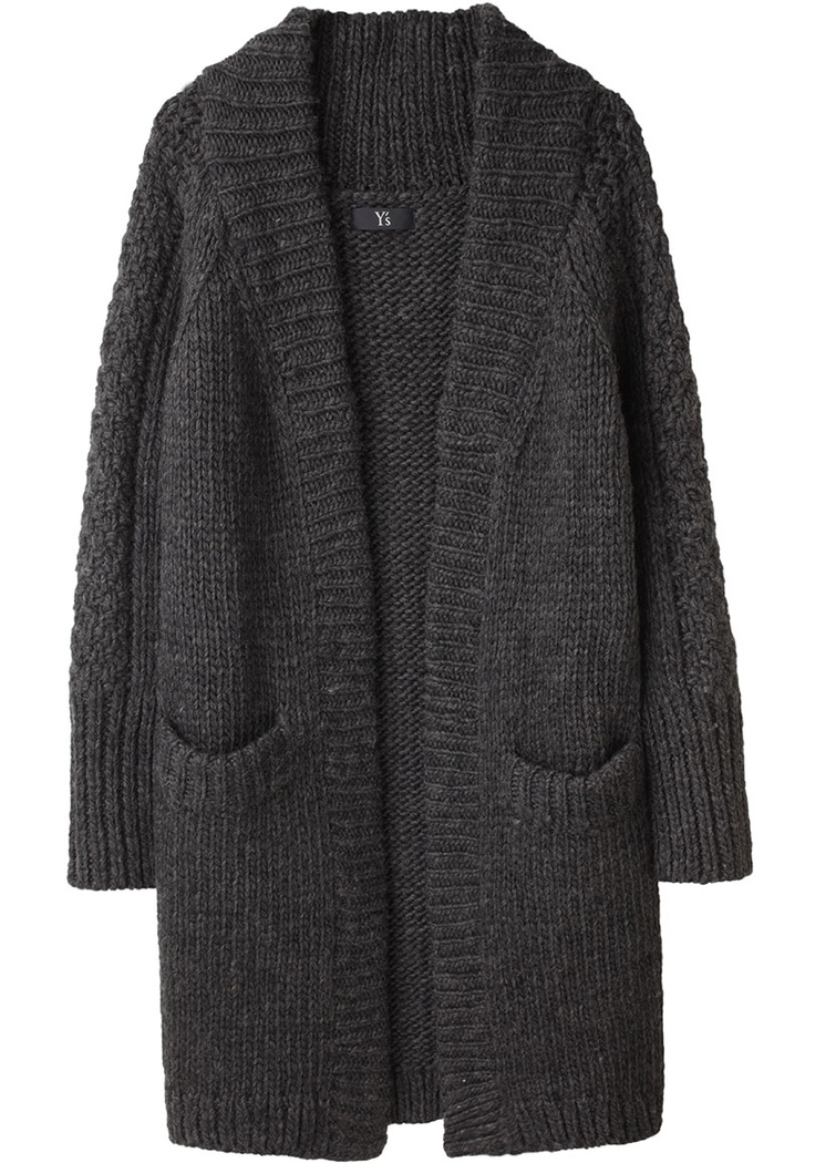 long cardigan: Cardigans, Fashion Outfit, Tomboy, Knit Crochet, Knit Sweaters, Kitch Knitwear, Knitting Ideas, Long Cowichan