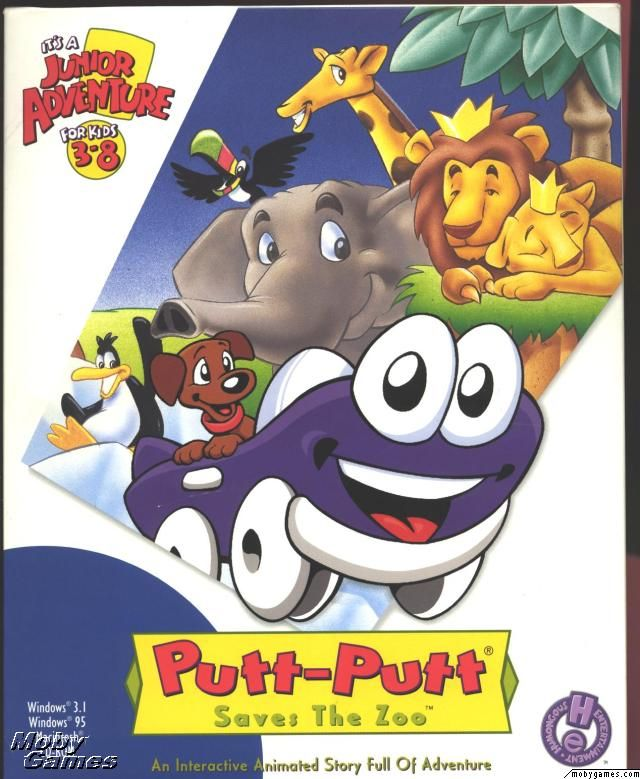 putt-putt saves the zoo :)
