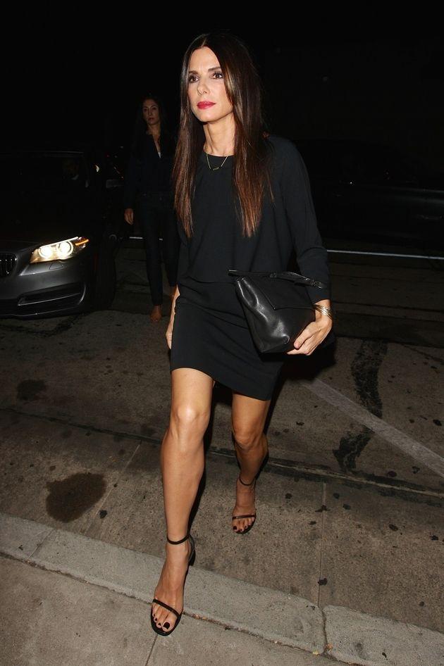 Sandra Bullock at 50 th