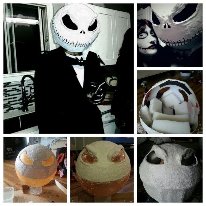 DIY Jack Skellington Mask