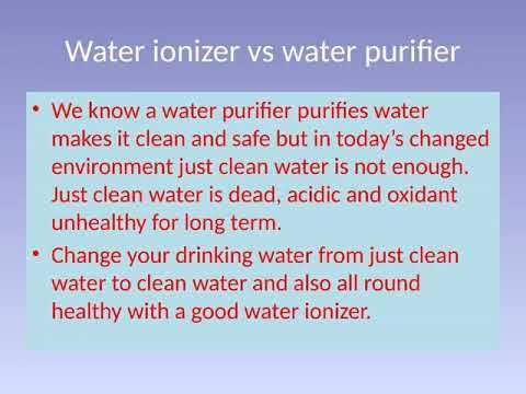 Pin by Kangen water india on water ionizer | Alkaline water