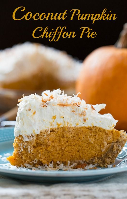1000+ ideas about Pumpkin Chiffon Pie on Pinterest | Pies, Pumpkin ...