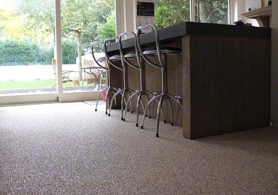 Unica Marmerstone 20 - naadloze kunststof vloer met marmer #marmerstone #vloeren