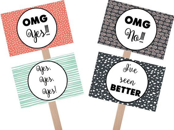Say Yes to the Dress pattern sign yes to dress by GrandWayPress
