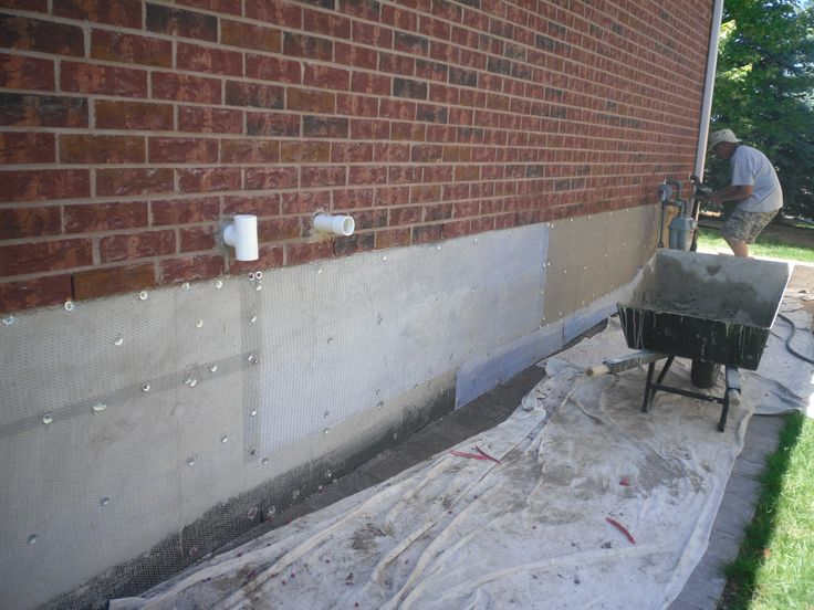 Foundation Repair Parging Foundation Parging