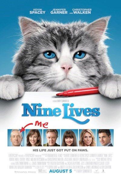 Хороший блог о кино и музыке, а тк же путешествиях: Девять жизней(Nine Lives)-2016