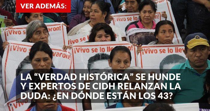 Ciudad de México, 7 de septiembre (SinEmbargo).– Los principales medios internacionales destacan cómo el informe difundido el día de ayer por elGrupo Interdisciplinario de Expertos Independientes (GIEI) de la Comisión Interamericana de Derechos Humanos (CIDH), con respecto a la desaparic