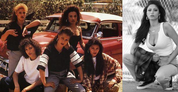 Chola Girl Influences on L.A.M.B. by Gwen Stefani - GwenClothing.com