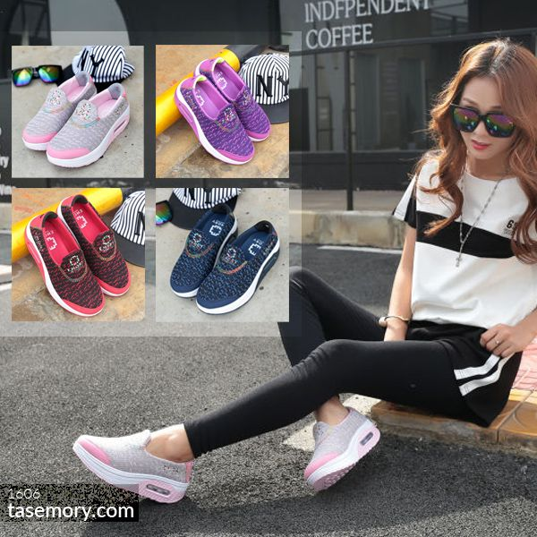 Sepatu EMORY Sketchers Sneakers 1606 Terbaru