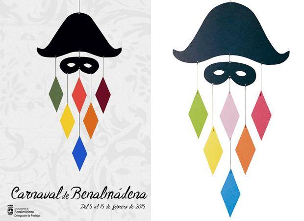 Retiran el cartel ganador del concurso del Carnaval de Benalmádena por plagio
