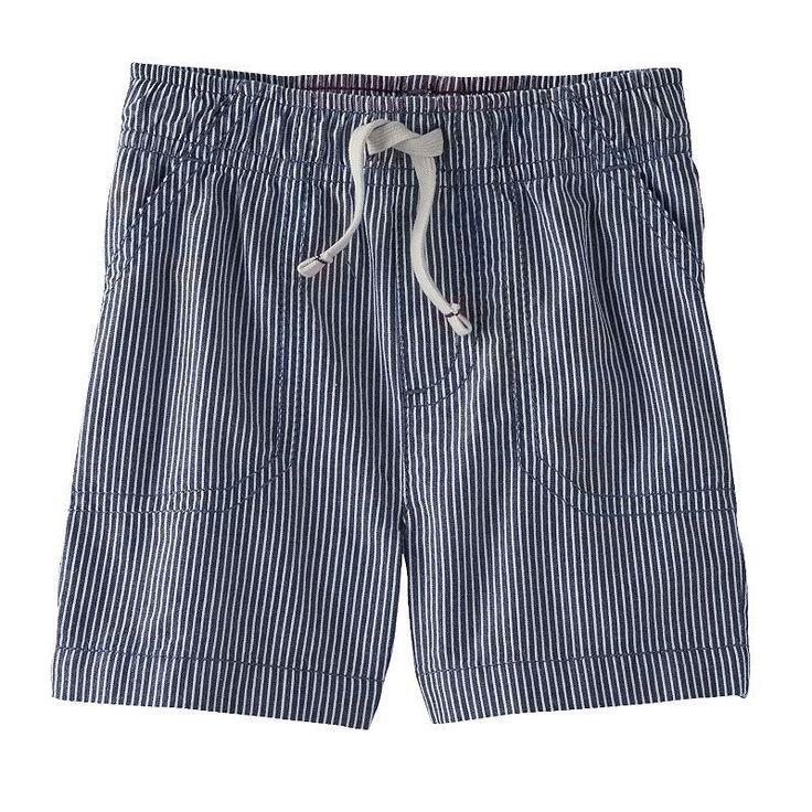 Baby Boy Jumping Beans Pinstripe Shorts, 18 Months #JumpingBeans #Shorts