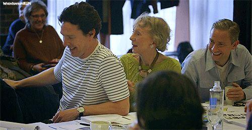 Season 4 - behind the scenes #behind the scenes #Benedict Cumberbatch