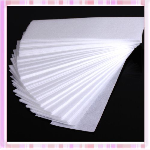 100 Pcs Professional Facial & Body Hair Removal Wax Strips Paper Depilatory Nonwoven Epilator B0221 (bestseller)
